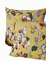 Cartoon Style Cotton Pillow Cover 1pc(Random Color)