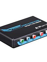 portta petrh RCA YPbPr componente RGB a HDMI v1.3 il video HDCP adattatore audio converter