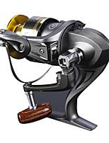 Molinetes Rotativos 5.2/1 10 Rolamentos Trocável Isco de Arremesso / Pesca Geral-6000 Jitai
