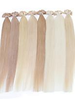 Neitsi 16inch Highlight Straight U Nail Tip Prebonbded Hair Extension 25g Human Hair