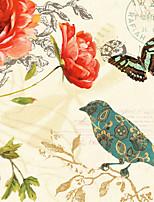 Stampa trasferimenti su tela Cartoni animati Classico / Stile europeo,Un Pannello Tela Stile Panoramica Stampa artistica Wall Decor For
