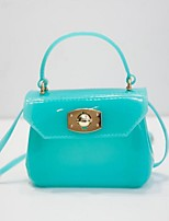 Women-Casual / Outdoor-PVC-Shoulder Bag-Blue / Green / Gold / Silver / Black