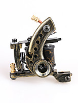 main bronze tattoo machine alimentation shader pour les artistes