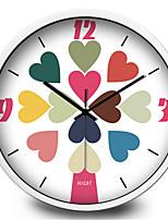 Love Decoration Wall Clock Home Furnishing Mute