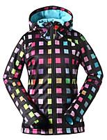 GSOU SNOW® Ski Wear Ski/Snowboard Jackets / Softshell Jacket / Hat Women's Winter Wear Polyester / Fleece Winter ClothingWaterproof /