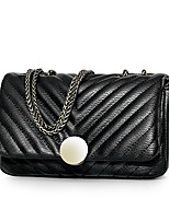 Women-Formal / Casual / Office & Career / Shopping-PU-Shoulder Bag-White / Black