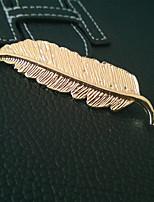 Женский Сплав металлов Заставка-Особые случаи / На каждый день / на открытом воздухе Заколка для волос / Заколки для волос / Шпилька 1 шт.