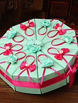 Geschenkboxen(Jägergrün,Kartonpapier) -Nicht personalisiert-Hochzeit / Jubliläum / Brautparty / Babyparty / Quinceañera & Der 16te