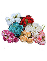 Simple Style Plastic Artificial Garland  Flower for Home Decoration(Random Color)