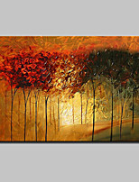 Big Size Hand Painted Modern Abstract Tree Oil Painting On Canvas Wall Art With Stretched Frame Ready To Hang 90x140cm