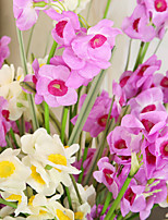 Hi-Q 1Pc Decorative Flowers Real Touch Daffodil For Wedding Home Table Decoration Artificial Flowers