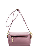 NAWO Leather packet female bag shoulder bag leather small party inclined shoulder bag in Europe and the joker female bag
