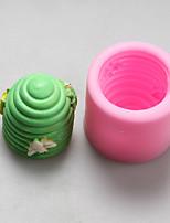 moldes de silicona de nido de abeja de la vela de chocolate, moldes para pasteles, moldes de jabón, herramientas de decoración para