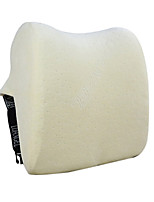 29*29 Velvet and Cotton Car Seat Headrest 3D Ivory