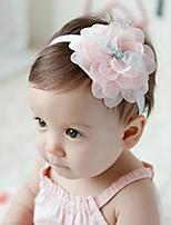 Girls Scarves,All Seasons Chiffon Pink / White / Yellow