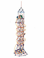 LOZ loop roller coaster electric tower blocks educational toys children's science