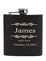 Personalized Wedding Party Gifts, Stainless Steel Engraved Wedding Flasks,Bridesmaid Gifts,Groomsmen Gifts
