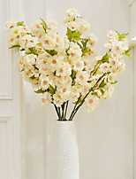 Hi-Q 1Pc Decorative Flowers Real Magnolia For Wedding Home Table Decoration Artificial Flowers