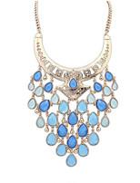 Fashion Tassel Water Drops Necklace Fine Jewelry