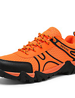 Men's Shoes Tulle Casual Sneakers Casual Walking Flat Heel Others / Lace-up Yellow / Green / Gray / Orange
