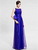 Trumpet/Mermaid Mother of the Bride Dress - Floor-length Sleeveless Organza