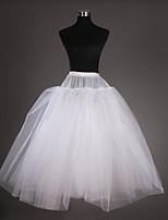 Slips(Tülle / Taft,Weiß) -102CM-3-Abendkleid