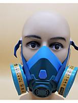 6201 mascarilla respiratoria gran visión pintura de silicona de la decoración de formaldehído química contra el polvo