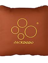 35*35 Cotton Car Seat Back Pillow Brown