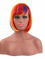 Multi-Color Fashion Women's Synthetic Wigs