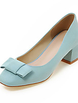 Women's Shoes Fleece Spring / Summer / Fall Heels Heels Wedding / Party & Evening / Dress / Casual Chunky