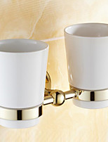 Toothbrush Holder / Toothbrush Cup / Polished Brass / Wall Mounted /30*10*12 /Brass /Antique /30 10 0.358