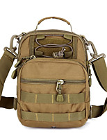 18 L Shoulder Bag Camping & Hiking Outdoor Multifunctional Black / Brown / Camouflage Canvas Other