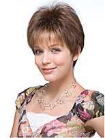 Brown Color Cosplay Wigs Heat Resistant Synthetic Wholesale Short Curly Party Cosplay Wig
