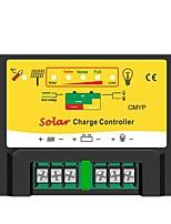 PWM 12/24V 10ALED Compensation de température de la batterie automatique Contrôleur de régulateur solaire Avec Protections complètes