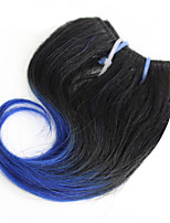 Body Wave 1 Bundles 1B/Bule Ombre Color Brazilian Body Wave Hair 100% Human Hair Weaves.