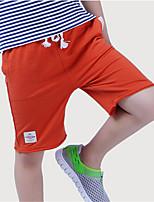 Shorts Boy-Verano-Algodón-Un Color