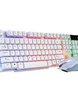 Windows 2000/XP/Vista/7/Mac OS USB Wired Keyboard & Mouse