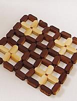 Bambou Carré Sets de table / Dessous-de-verres