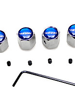 4 Pcs Upgrade Sport Tire Valve Cap Modification
