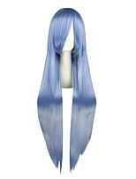 Perucas de Cosplay-Projecto de Touhou-Azul- com100