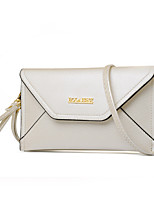 Women-Formal / Casual / Office & Career / Shopping-PU-Shoulder Bag-White / Pink / Blue / Black / Burgundy