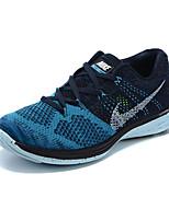 Zapatos Running Tejido Azul / Amarillo / Azul Marino Hombre