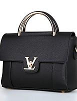Women-Casual / Outdoor / Office & Career / Shopping-PU-Shoulder Bag-Beige / Pink / Purple / Gray / Black / Burgundy