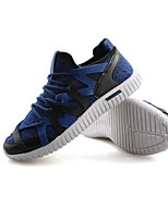 Men's Sneakers Spring / Fall Round Toe Tulle Office & Career / Casual / Party & Evening Flat Heel Others Black / Blue / Green