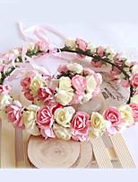 Bloemenmeisje Papier Helm-Bruiloft / Speciale gelegenheden Bloemen 1 Stuk