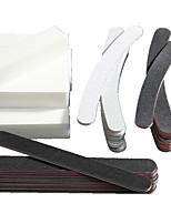 40 Pcs Nail Art Tips Sanding Buffer Shiner Polish Acrylic Block Manicure Pedicure Gel Care Files Tools