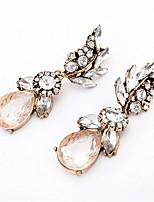 Luxury Flash Diamond Earrings Crystal Earrings
