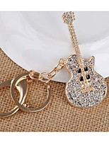 Korean version of the high-end guitar keychain