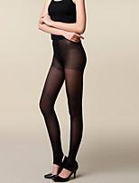 Women Warm Pantyhose,Velvet / Spandex Fishnet tights Slim Long Stockings 200D
