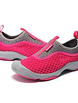 Homme-Extérieure / Sport-Violet / Rouge / Gris-Talon Plat-Bout Arrondi / Bout Fermé-Sneakers-Toile